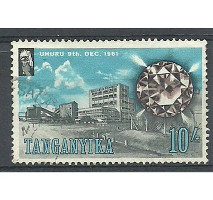 Znaczek Tanganika 1961 Mi 108 Stemplowane