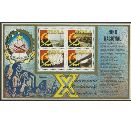 Znaczek Angola 1985 Mi bl 8 Czyste **
