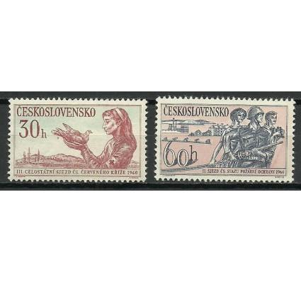 Znaczek Czechosłowacja 1960 Mi 1201-1202 Czyste **