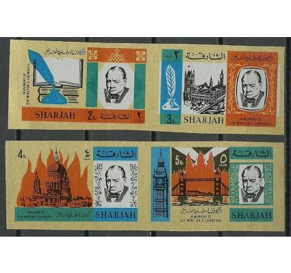 Znaczek Sharjah 1966 Mi 221-224B Czyste **