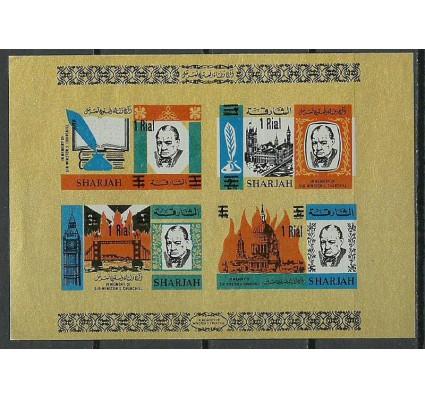 Znaczek Sharjah 1966 Mi bl 17B Czyste **