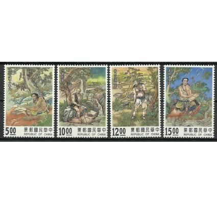 Znaczek Tajwan 1994 Mi 2200-2203 Czyste **