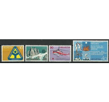 Znaczek Szwajcaria 1972 Mi 975-978 Czyste **