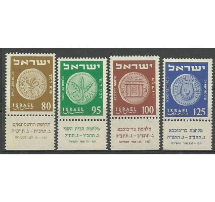 Znaczek Izrael 1954 Mi 94-97 Czyste **
