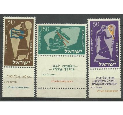Znaczek Izrael 1956 Mi 135-137 Czyste **