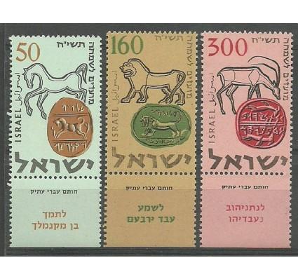 Znaczek Izrael 1957 Mi 145-147 Czyste **