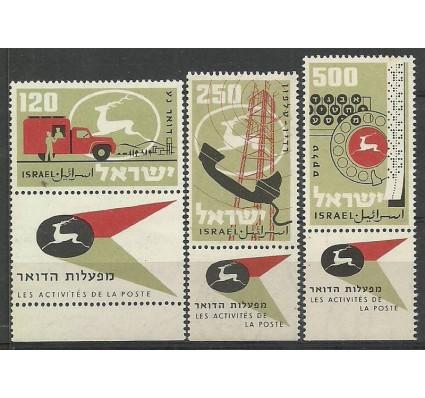Znaczek Izrael 1959 Mi 172-175 Czyste **