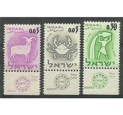 Znaczek Izrael 1962 Mi 249-251 Czyste **
