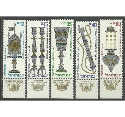Znaczek Izrael 1966 Mi 366-370 Czyste **