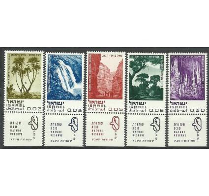 Znaczek Izrael 1970 Mi 456-460 Czyste **