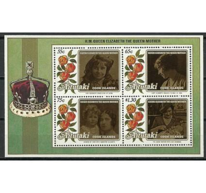 Znaczek Aitutaki 1986 Mi bl 65 Czyste **