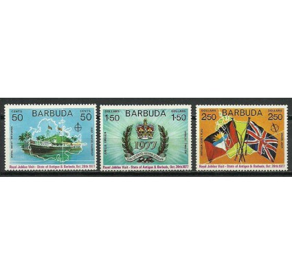 Znaczek Barbuda 1977 Mi 334-336 Czyste **