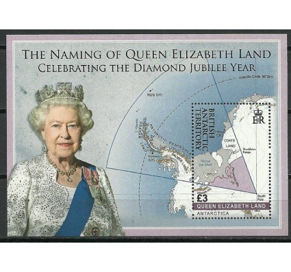 Znaczek Brytyjskie Terytorium Antarktyczne 2013 Mi bl 24 Czyste **