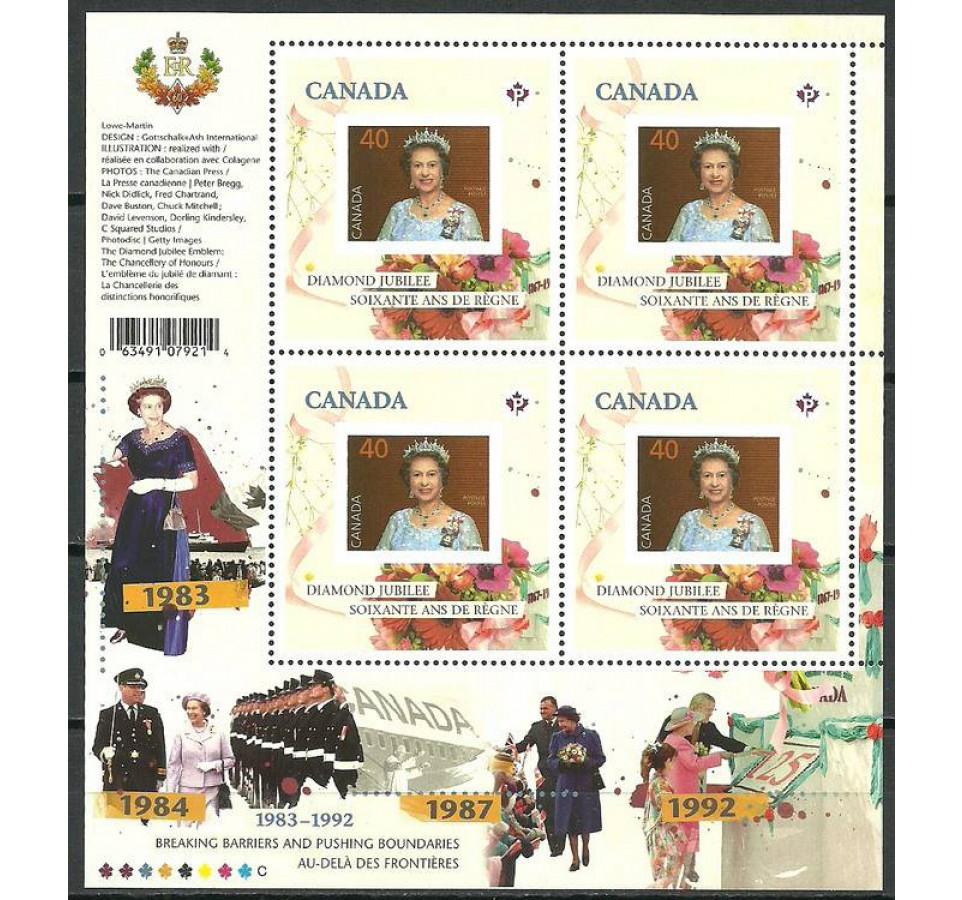 Kanada 2012 Mi ark 2820 Czyste **