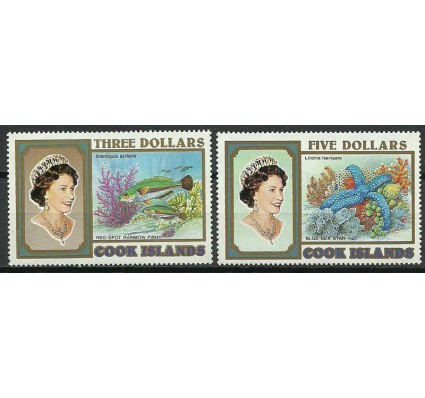 Znaczek Wyspy Cooka 1993 Mi 1393-1394 Czyste **