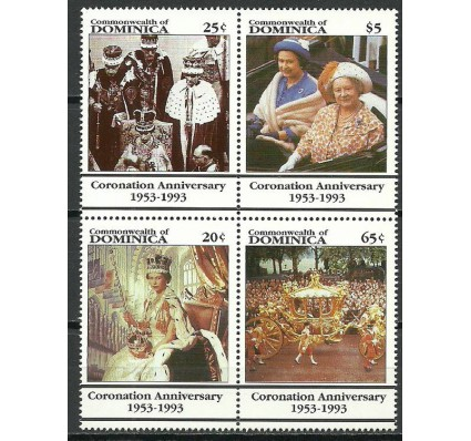 Znaczek Dominika 1993 Mi 1697-1700 Czyste **