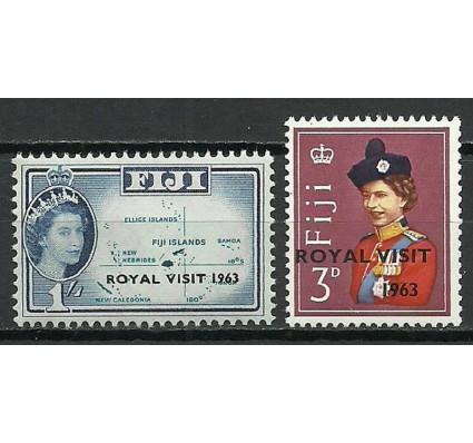 Znaczek Fidżi 1963 Mi 168-169 Czyste **