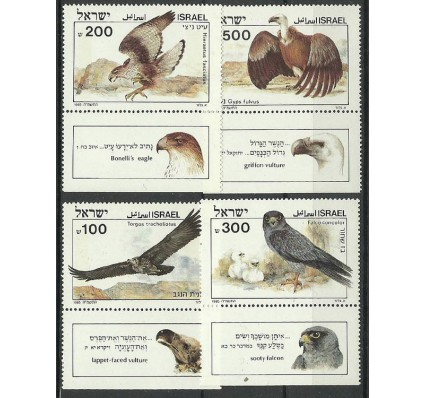 Znaczek Izrael 1985 Mi 982-985 Czyste **
