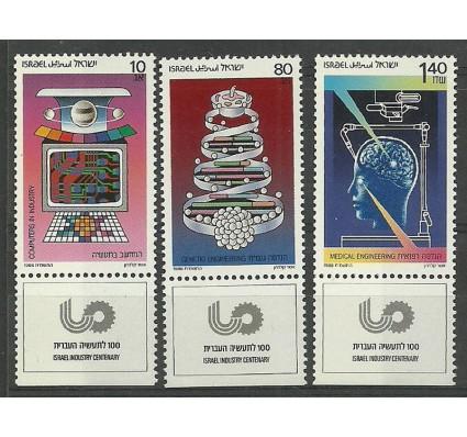 Znaczek Izrael 1987 Mi 1080-1082 Czyste **