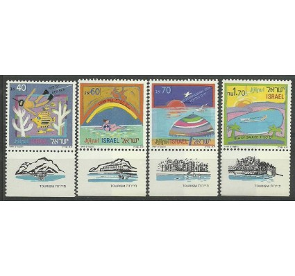 Znaczek Izrael 1989 Mi 1116-1119 Czyste **