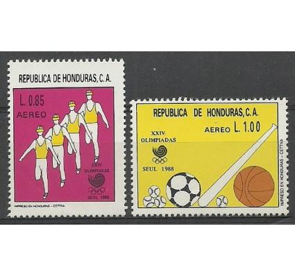 Znaczek Honduras 1988 Mi 1065-1066 Czyste **