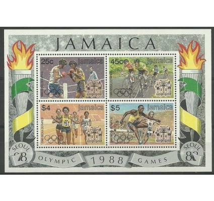 Znaczek Jamajka 1988 Mi bl 29 Czyste **