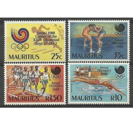 Znaczek Mauritius 1988 Mi 674-677 Czyste **