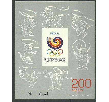 Znaczek Ekwador 1989 Mi bl 133 Czyste **