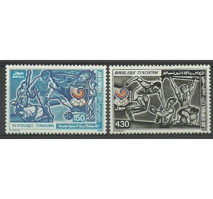 Znaczek Tunezja 1988 Mi 1174-1175 Czyste **