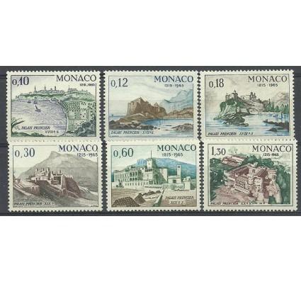 Znaczek Monako 1966 Mi 812-817 Czyste **