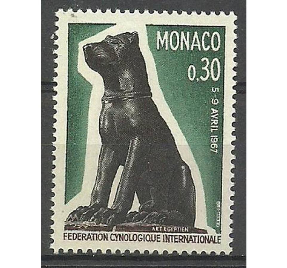 Monako 1967 Mi 872 Czyste **