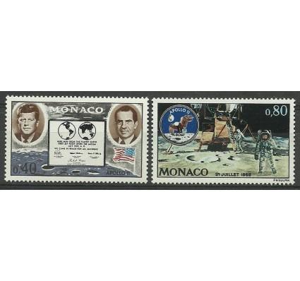 Znaczek Monako 1970 Mi 974-975 Czyste **
