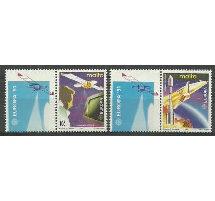 Znaczek Malta 1991 Mi 854-855 Czyste **