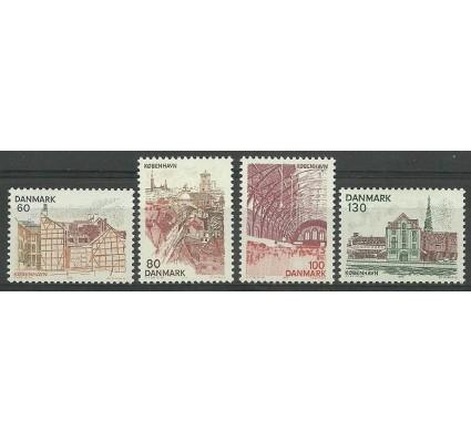 Znaczek Dania 1976 Mi 617-620 Czyste **