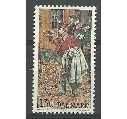 Znaczek Dania 1976 Mi 628 Czyste **