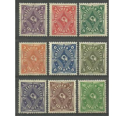 Znaczek Deutsches Reich / III Rzesza 1922 Mi 224-232 Czyste **