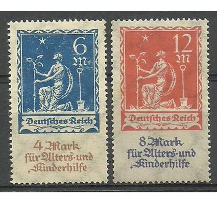 Znaczek Deutsches Reich / III Rzesza 1922 Mi 233-234 Czyste **