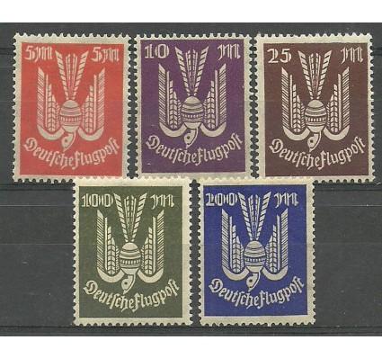 Znaczek Deutsches Reich / III Rzesza 1923 Mi 263-267 Czyste **