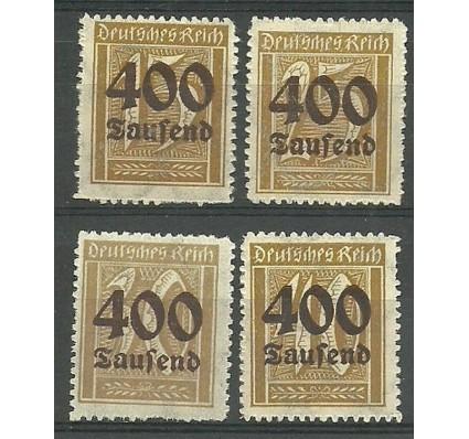 Znaczek Deutsches Reich / III Rzesza 1923 Mi 297-300 Czyste **