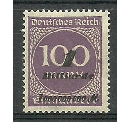 Znaczek Deutsches Reich / III Rzesza 1923 Mi 321 Czyste **