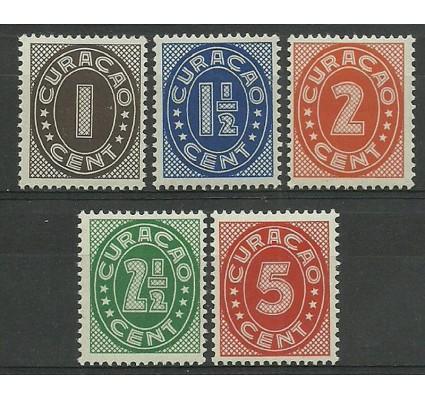 Znaczek Curacao 1936 Mi 143-147 Czyste **