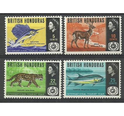 Znaczek Honduras Brytyjski 1967 Mi 201-204 Czyste **