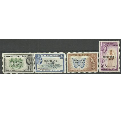 Znaczek Honduras Brytyjski 1962 Mi 160-163 Czyste **