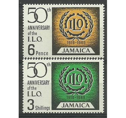 Znaczek Jamajka 1969 Mi 276-277 Czyste **