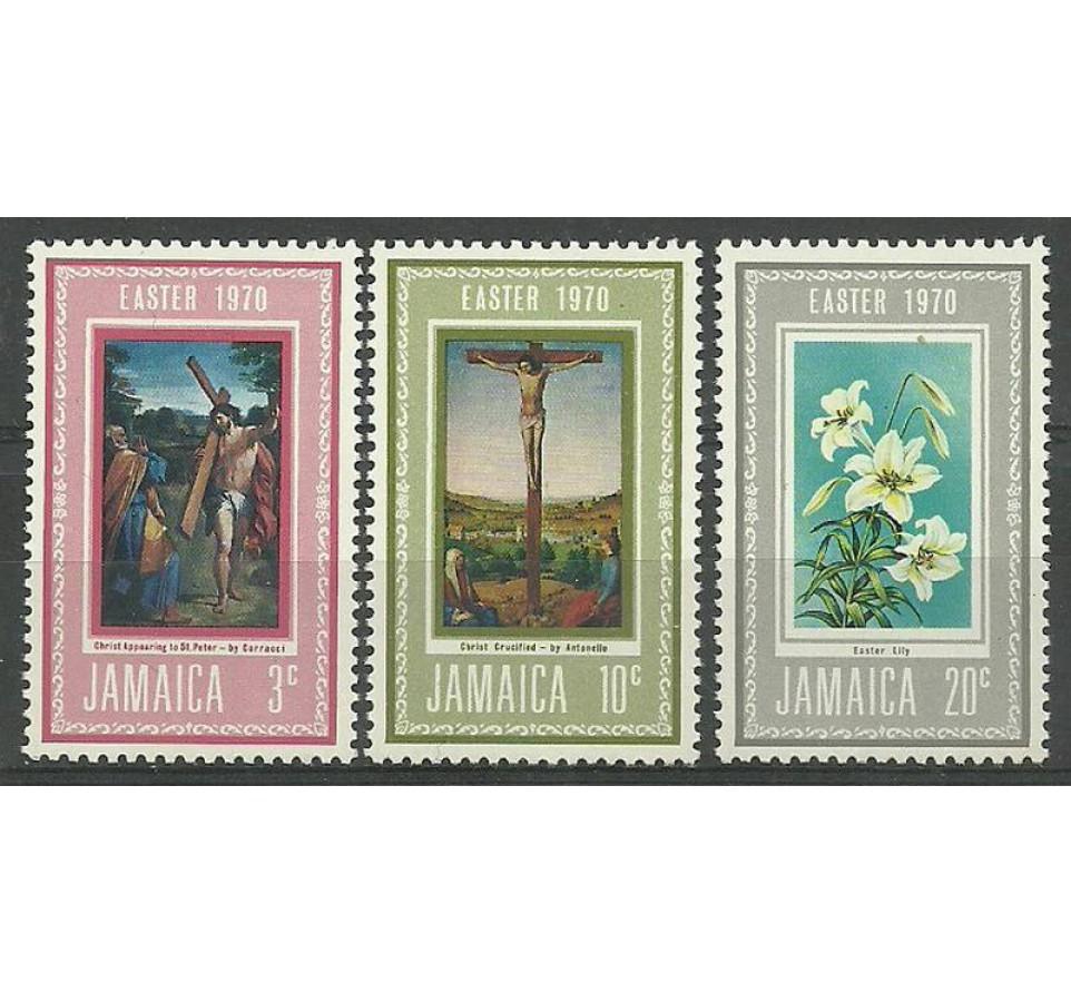 Jamajka 1970 Mi 304-306 Czyste **