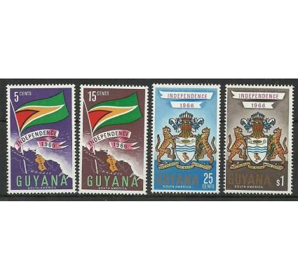 Znaczek Gujana 1966 Mi 261-264 Czyste **