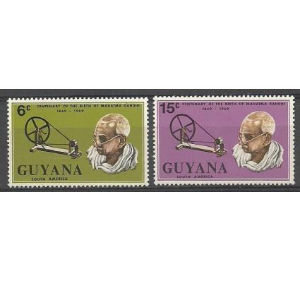 Znaczek Gujana 1969 Mi 362-363 Czyste **