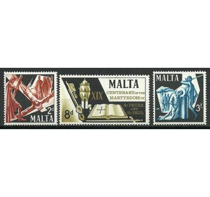 Znaczek Malta 1967 Mi 353-355 Czyste **