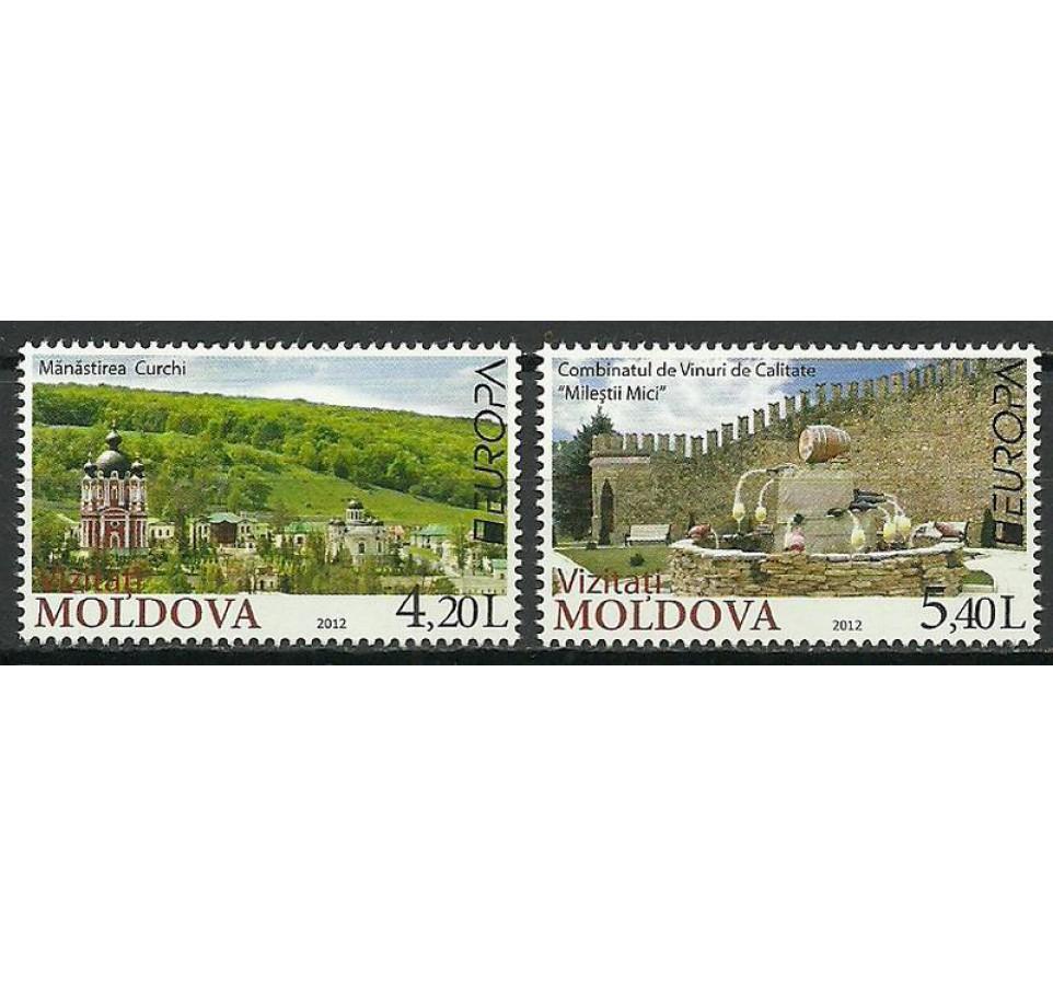 Mołdawia 2012 Mi 793-794 Czyste **