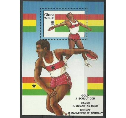 Znaczek Ghana 1989 Mi bl 134 Czyste **